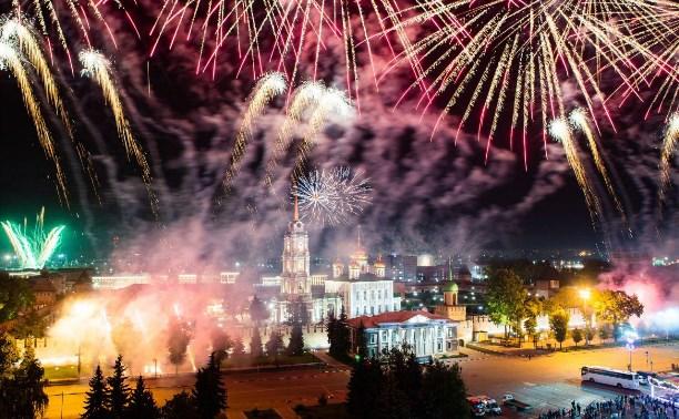 День города в Туле завершился концертом группы «Рондо» и фейерверком: фото и видео