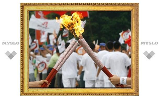 По Тульской области пронесут олимпийский огонь