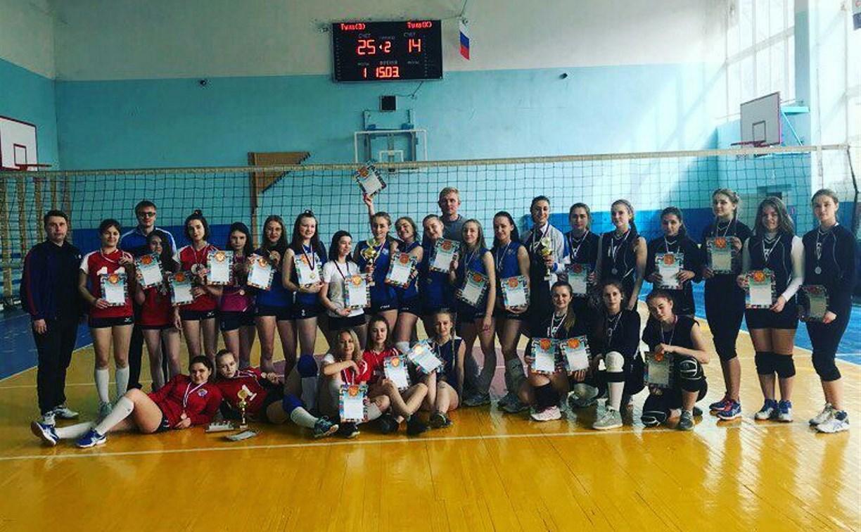 В Новомосковске разыграли финалы Детской волейбольной лиги среди девушек