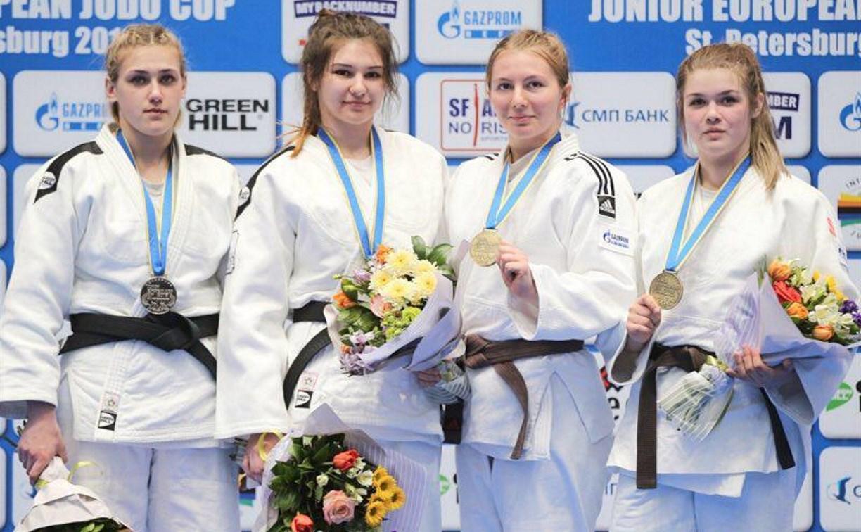Тульская спортсменка завоевала бронзу на Кубке Европы по дзюдо