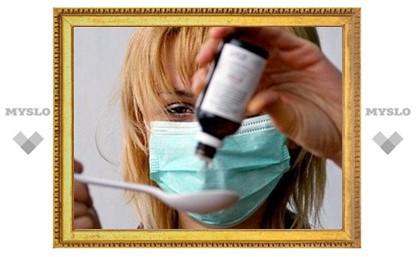 Почти тысяча туляков болеет гриппом и ОРВИ