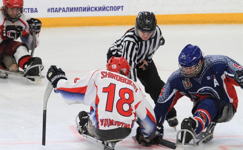 В Алексине завершился чемпионат России по следж-хоккею