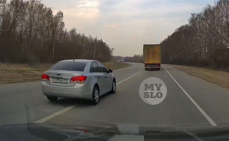 «Накажи автохама»: торопыжка на Chevrolet