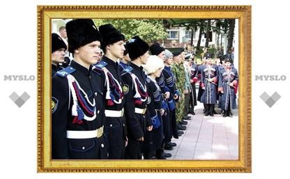 Под Тулой проходит первая областная спартакиада для юных казаков