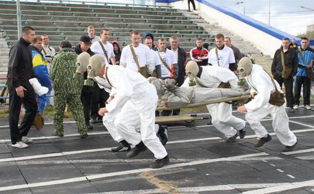 Тульские полицейские пробегут эстафету в противогазах и бронежилетах