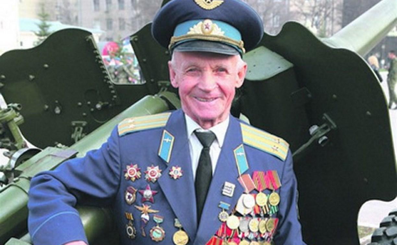 Тульский ветеран-лётчик Николай Кульпов отметил 95-летие