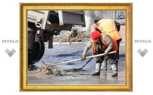 В Туле начинают ямочный ремонт улиц