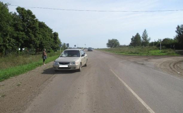 Под Богородицком водитель иномарки сбил двоих детей