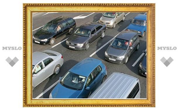 Электронные щиты на дорогах помогут москвичам объехать пробки