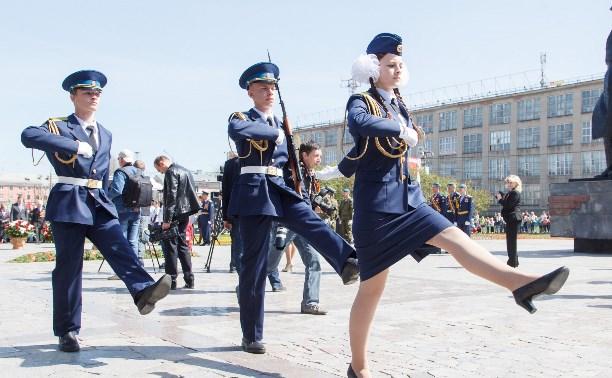 8 мая тульские школьники заступили на вахту Поста №1