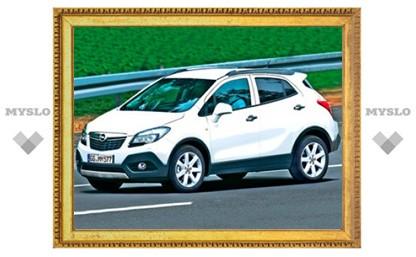 Маленький кроссовер Opel представят в марте
