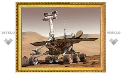 Марсоход Spirit перезагрузился без разрешения
