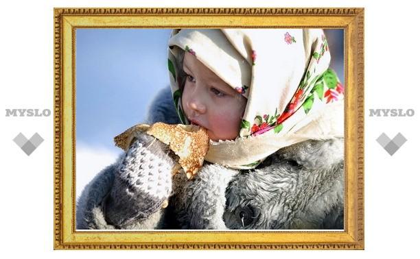 В Белоусовском парке готовятся к Масленице