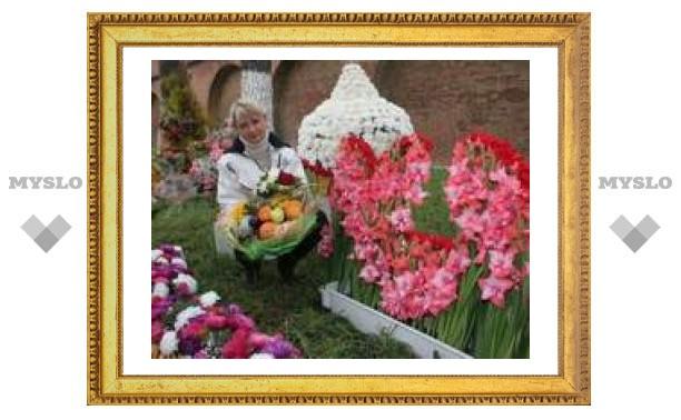 В Туле прошла выставка цветов