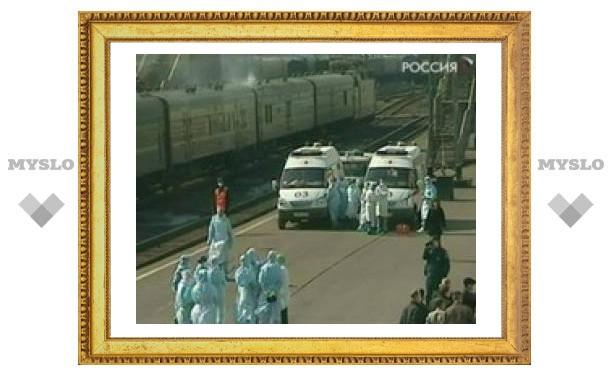 Поезд, в котором умерла китаянка, прибыл в Москву