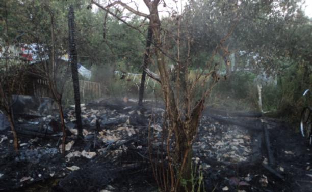 В Куркино на пепелище пожарные обнаружили труп