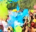 Туляки устроили битву на красках