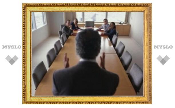 13 ноября в Туле состоится первое заседание комиссии по выбору сити-менеджера