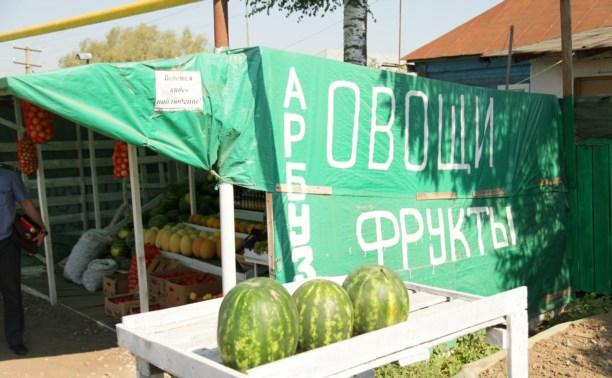В Туле начали штрафовать за незаконную торговлю арбузами