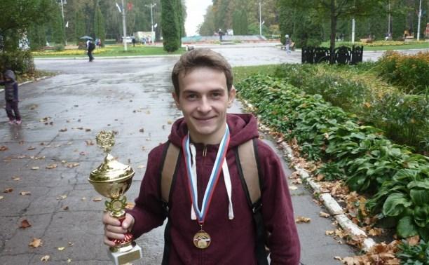 Туляк получил золотую медаль на чемпионате России по лёгкой атлетике
