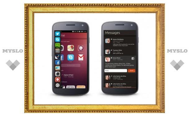 Названа дата выхода смартфонов на Ubuntu