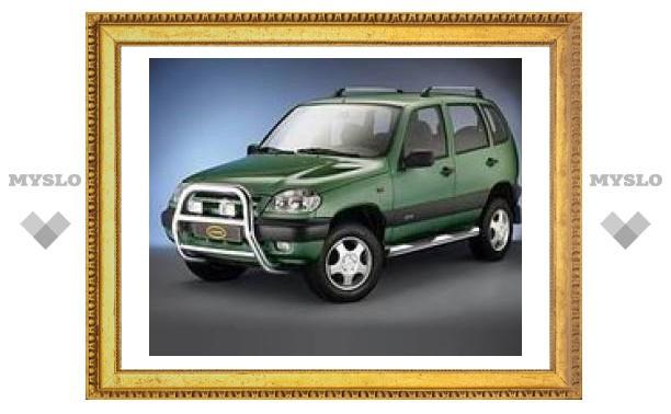 Обновленная Chevrolet Niva сойдет с конвейера в 2009 году