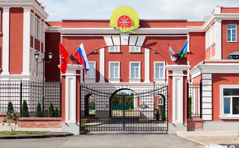 В Туле временно перекроют подъезд к суворовскому училищу