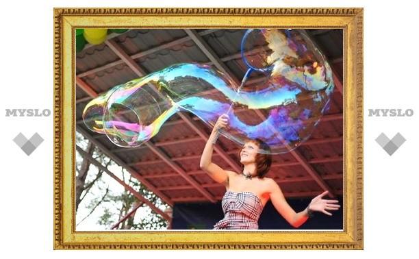 Тулякам покажут «Шоу мыльных пузырей»