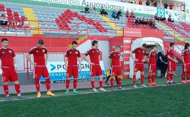 Тульский «Арсенал» потерпел второе поражение на Кубке ФНЛ