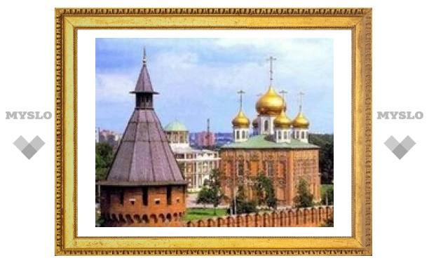 В Тульском Кремле поставят новые лавки