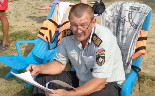 Сотрудники МЧС патрулируют водоёмы Тульской области