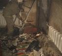 Спасатели вывели из горящего дома шесть человек