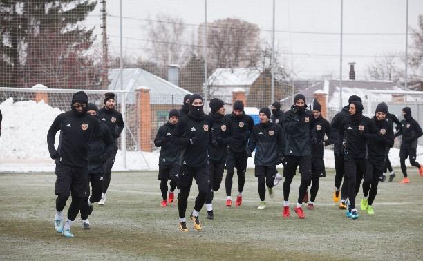 «Арсенал» готовится к матчу с московским «Спартаком»