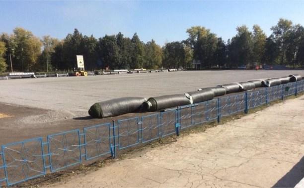 Искусственное покрытие появится на стадионе в Кимовске к 1 октября