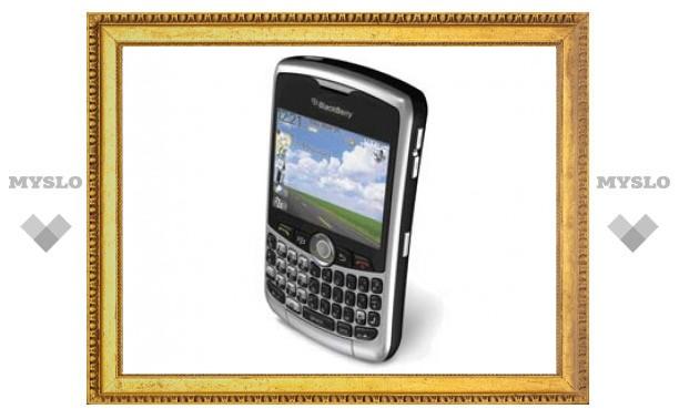 Канадские пользователи BlackBerry лишились SMS-сообщений