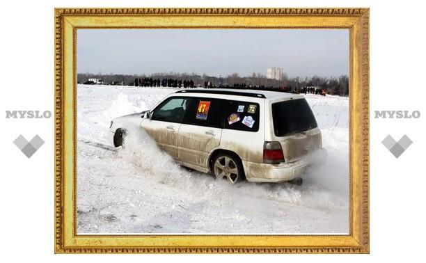 «Золото» снежных гонок досталось тулякам