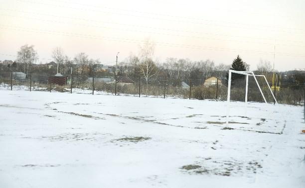 В Плеханово для юных футболистов построили футбольное поле