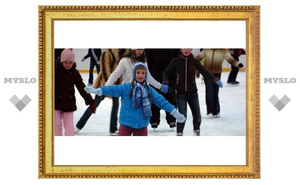 В Туле открыли ледовый стадион