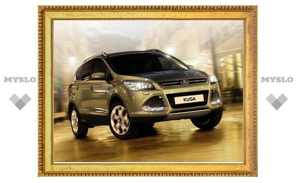Новый Ford Kuga покажут в Туле 22 марта