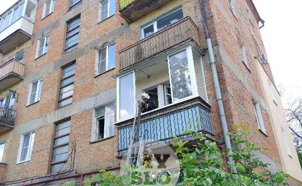 При тушении пожара на ул. Шухова нашли труп пенсионерки