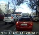 Накажи автохама: езда против потока на односторонней улице в Туле, парковка на тротуаре и езда по встречке