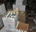 Полиция нашла 25 тысяч поддельных бутылок водки и виски