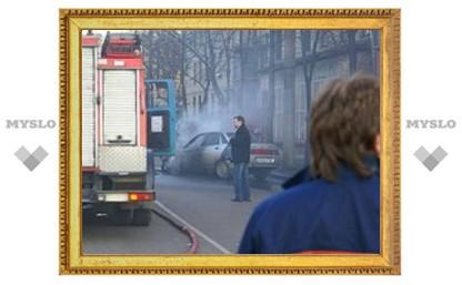 Под Тулой орудует поджигаетль машин