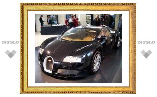 В России начались продажи суперкара Bugatti Veyron