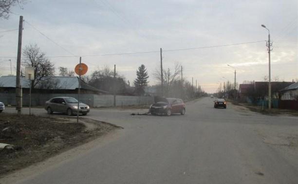 Пьяный водитель устроил ДТП на ул. Кабакова