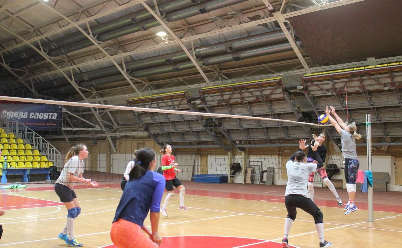 Волейболистки «Тулицы» готовятся к домашним матчам с уфимской командой