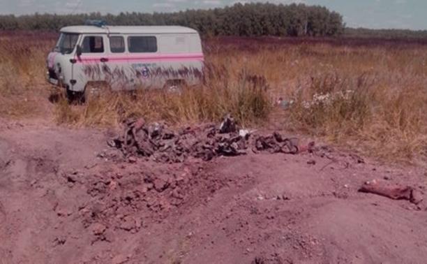 В Ясногорском районе уничтожили пять авиабомб времен ВОВ