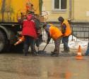 24 февраля в Туле продолжается ремонт дорог