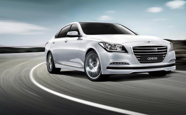 В Туле представили новый Hyundai Genesis