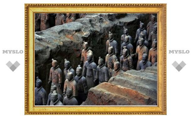 Китайские археологи нашли 110 терракотовых воинов